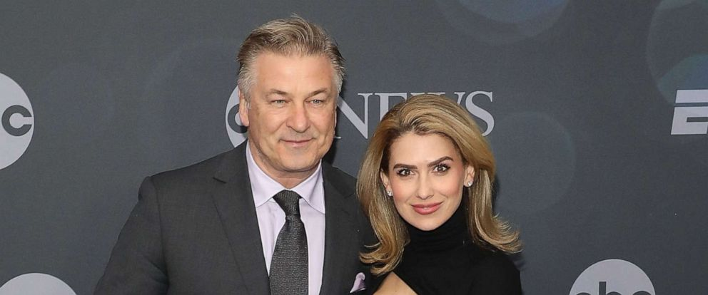 PHOTO: Alec Baldwin and Hilaria Baldwin attend the 2019 ABC Walt Disney Television Upfront at Tavern on the Green on May 14, 2019, in New York.