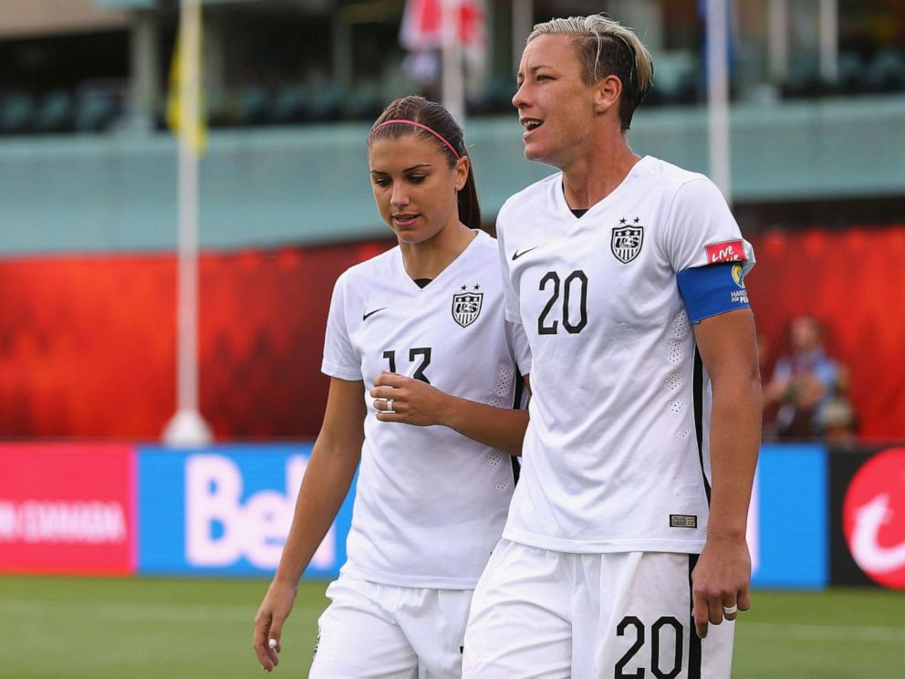 37af9511029 PHOTO Alex Morgan and Abby Wambach during the FIFA Womens World Cup Canada  2015 match