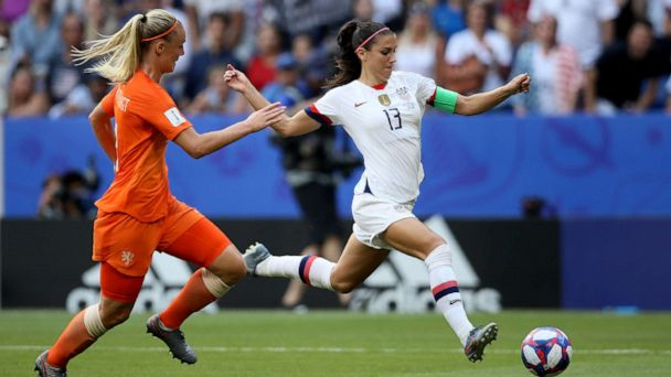US women's Alex Morgan: What's next in the battle for gender equality