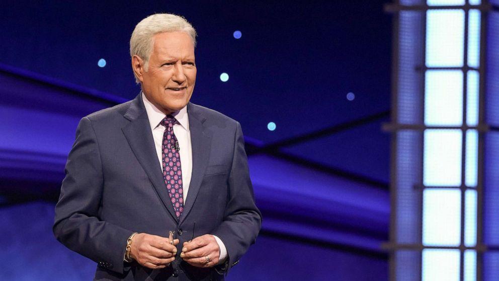 Alex Trebek's 'Jeopardy!' wardrobe donated to charity - GMA