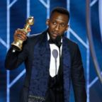 "Mahershala Ali accepting the award for best supporting actor in a motion picture for his role in ""Green Book"" during the 76th Annual Golden Globe Awards at the Beverly Hilton Hotel, Jan. 6, 2019, in Beverly Hills, Calif."