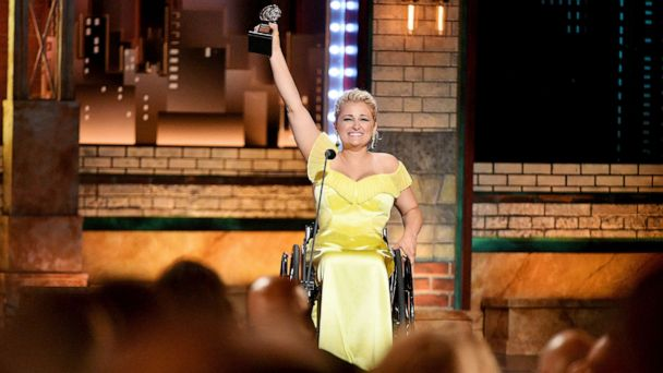 2019 Tony Awards: Ali Stroker makes history as first actress who uses a wheelchair to win award