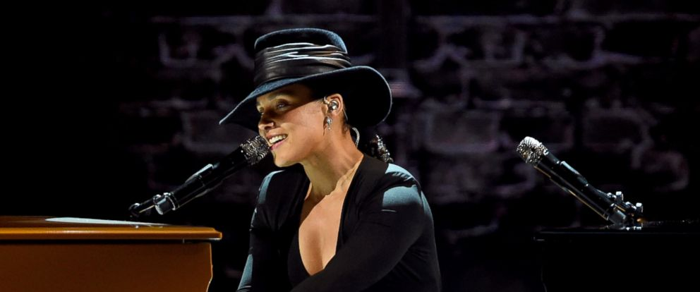 PHOTO: Alicia Keys performs onstage during the 61st Annual Grammy Awards at Staples Center on Feb. 10, 2019, in Los Angeles.