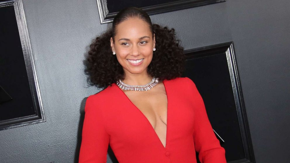 Alicia Keys attends the 61st Annual Grammy Awards, Feb. 10, 2019 in Los Angeles.