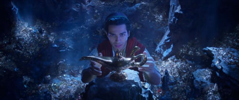 """PHOTO: A screen grab from the new """"Aladdin"""" trailer."""