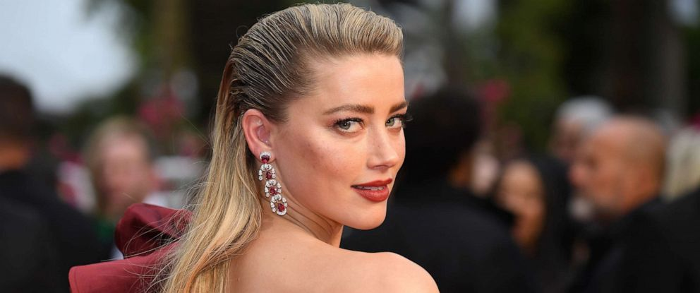 PHOTO: Amber Heard attends the 72nd annual Cannes Film Festival on May 17, 2019 in Cannes, France.