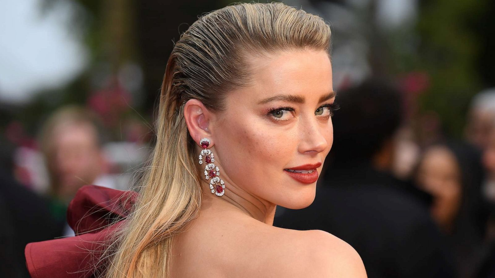 Amber Heard Topless amber heard protests instagram's female 'no nipple' policy
