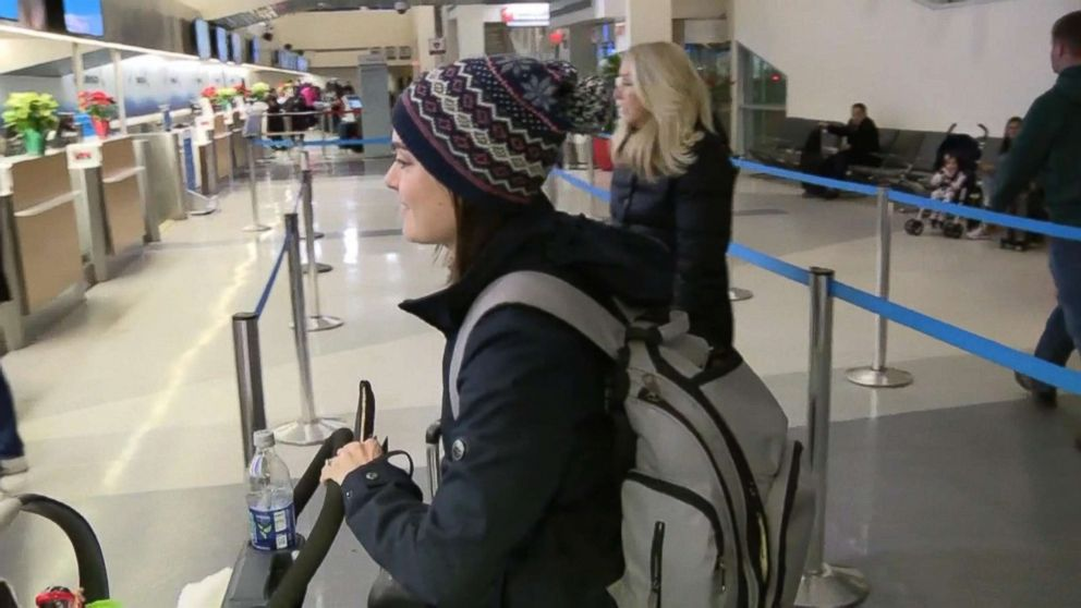 Kelsey Zwick was on an Orlando flight to Philadelphia when Jason Kunselman offered his first class seat to her and her infant daughter.