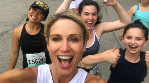 Amy Robach on her love of running and how you can get started