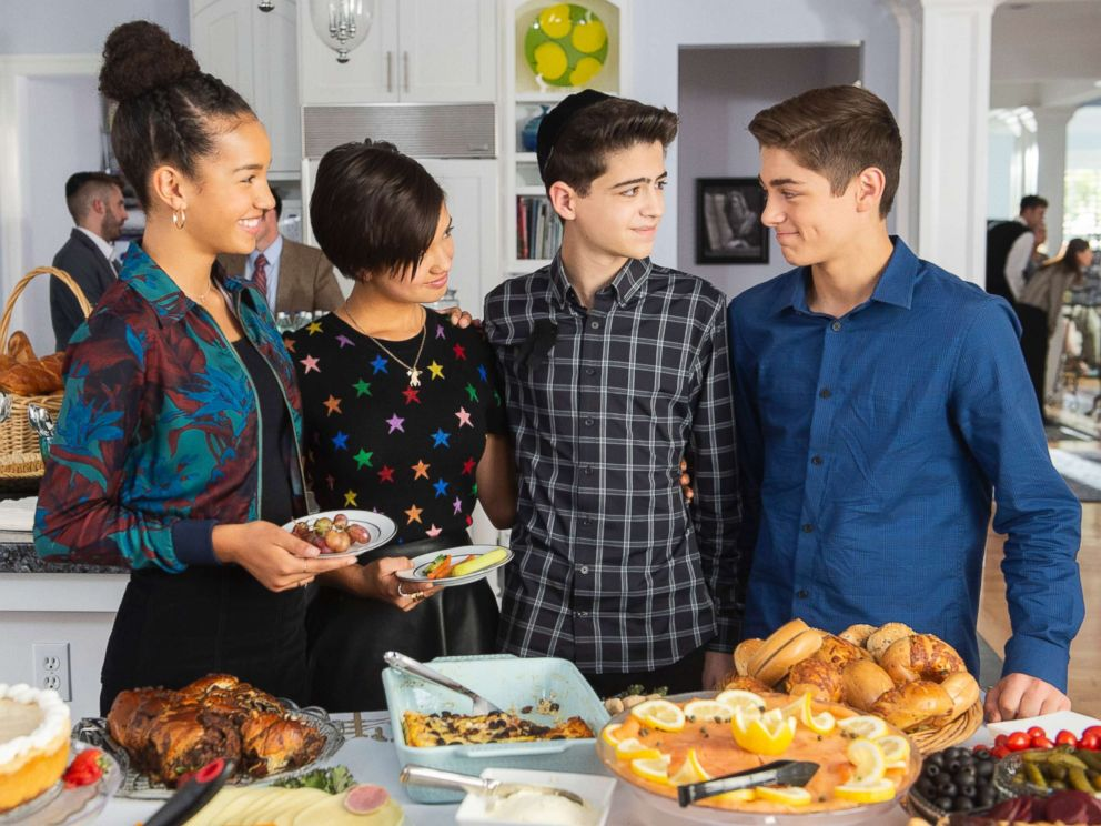 PHOTO: Sofia Wylie, Peyton Elizabeth Lee, Joshua Rush and Asher Angel star in the Disney Channels, Andi Mack.