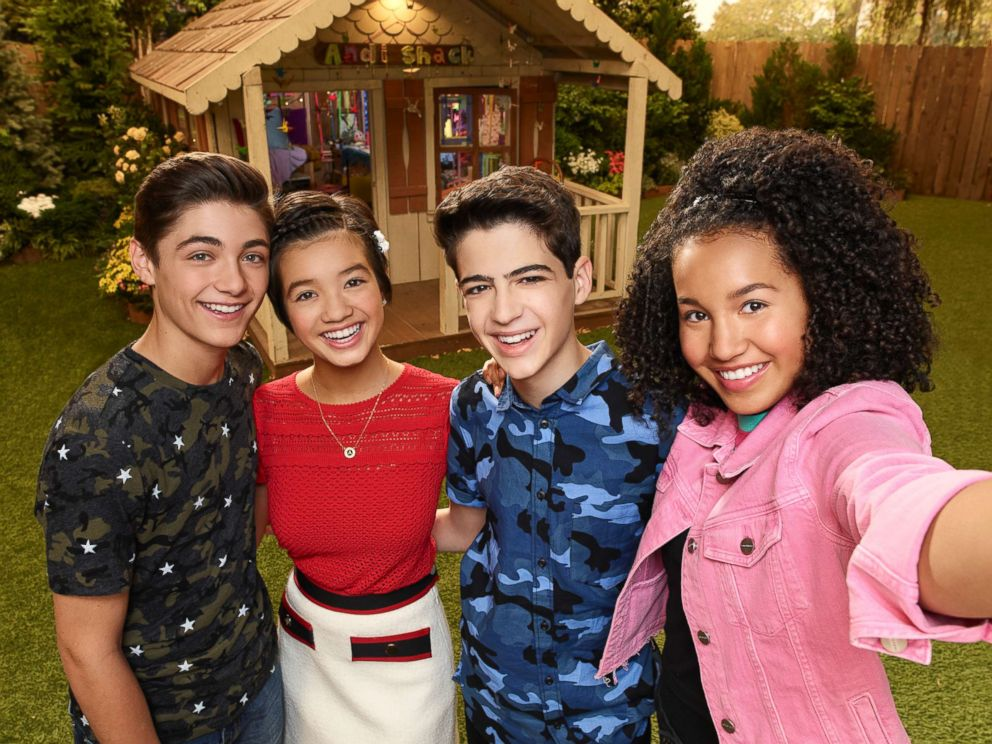 PHOTO: Asher Angel, Peyton Elizabeth Lee, Joshua Rush and Sofia Wylie star in the Disney Channels, Andi Mack.