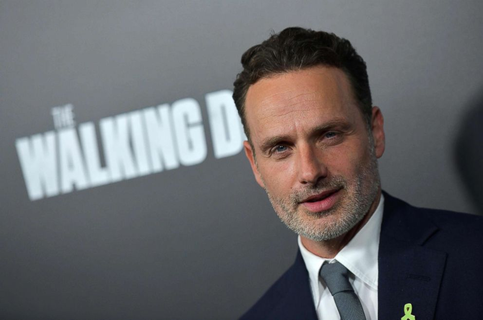 PHOTO: British actor Andrew Lincoln attends the premiere of AMCs The Walking Dead Season 9 at the DGA Theatre in Los Angeles, Sept. 27, 2018.