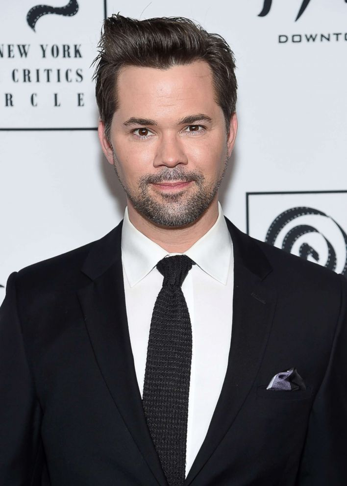 Andrew Rannells attends the 2018 New York Film Critics Circle Awards at TAO Downtown, Jan. 7, 2019, in New York.