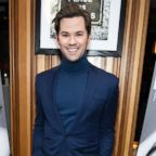 """Andrew Rannells attends """"Fleabag"""" opening night party at Bistrot Leo, March 7, 2019, in N.Y."""