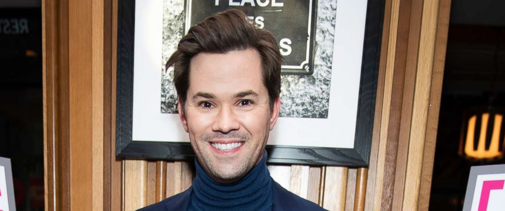 """PHOTO: Andrew Rannells attends """"Fleabag"""" opening night party at Bistrot Leo, March 7, 2019, in N.Y."""