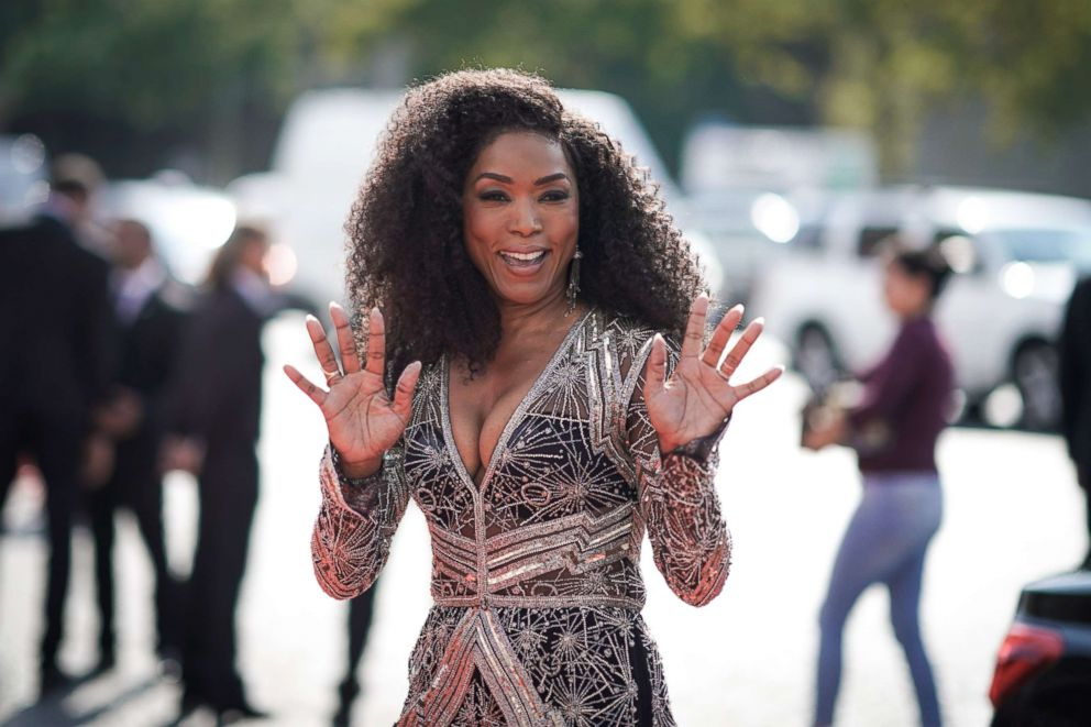 PHOTO: Actress Angela Bassett attends the Global Premiere of Mission: Impossible - Fallout at Palais de Chaillot, July 12, 2018, in Paris.
