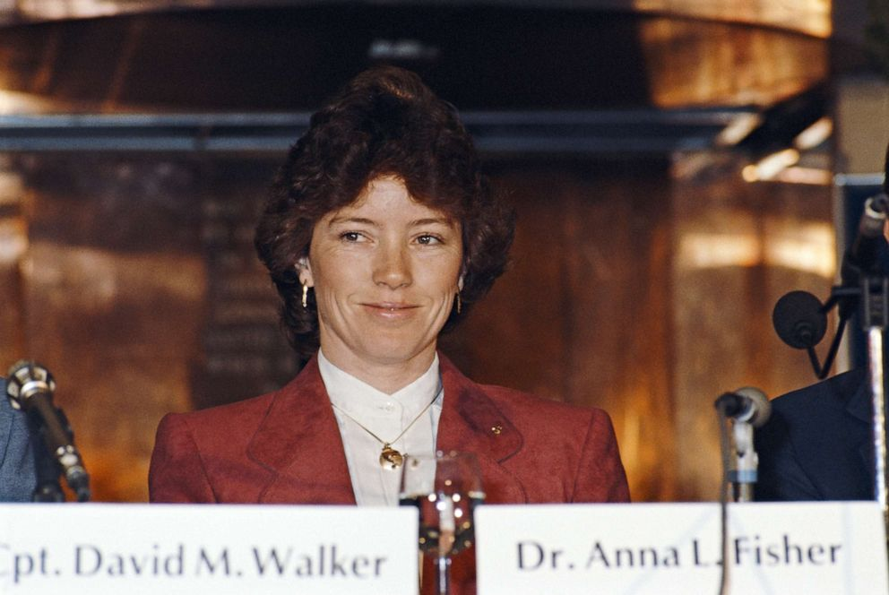 PHOTO: Dr. Anna Lee Fisher is pictured in 1985.