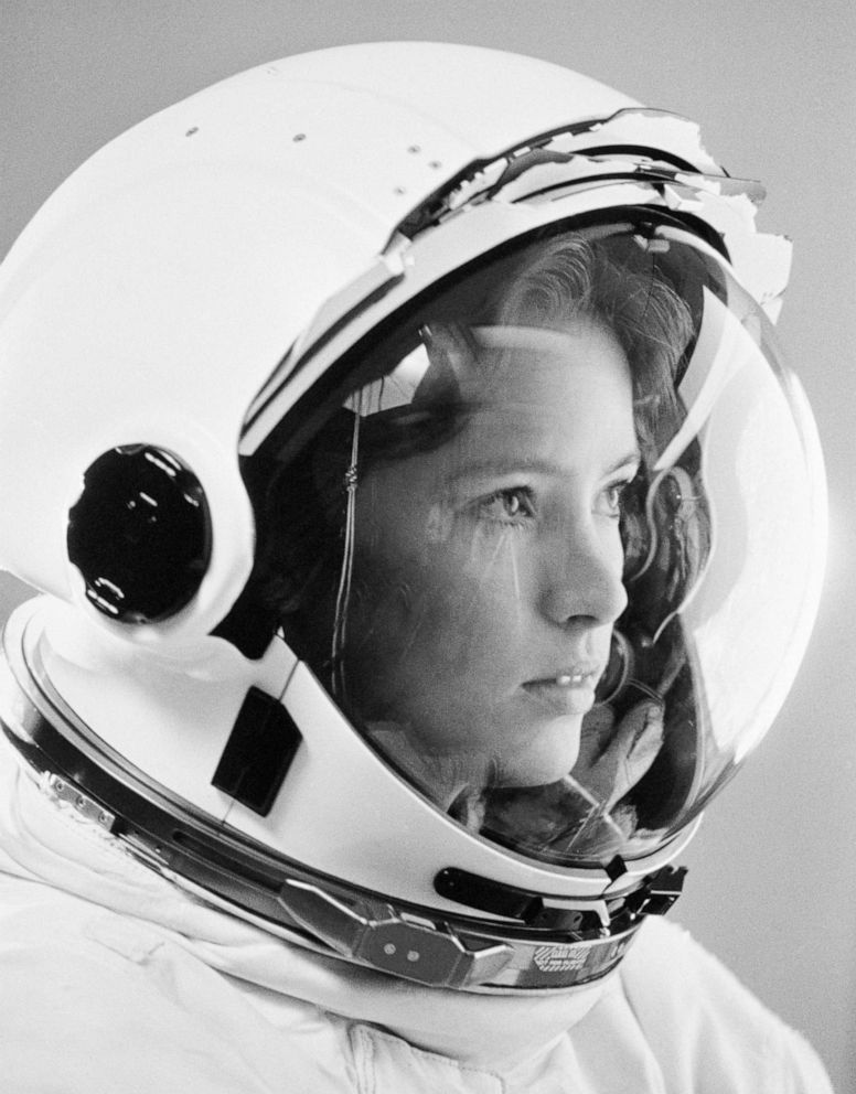 PHOTO: NASA Astronaut Anna Lee Fisher is pictured while training at the Lyndon B. Johnson Space Center, in Houston for a space shuttle launch in 1984.