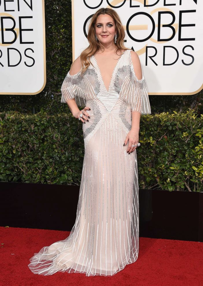 PHOTO: Drew Barrymore attends the 74th Annual Golden Globe Awards at The Beverly Hilton Hotel on Jan. 8, 2017 in Beverly Hills, Calif.