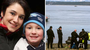 Woman, Son Missing After Van Found on Wash. Beach