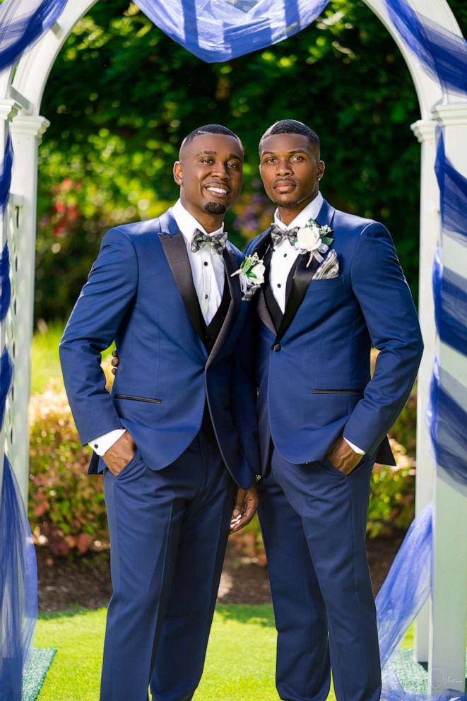 PHOTO: Taylor and Isaiah Green-Jones were married in Portland, Aug. 4, 2019.