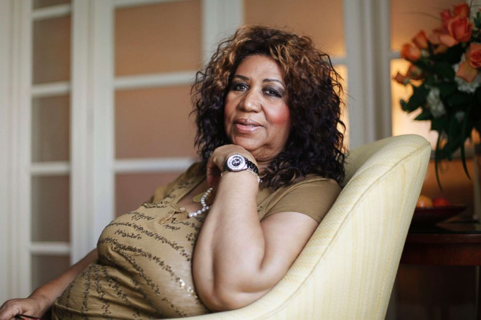 PHOTO: Aretha Franklin poses for a portrait in Philadelphia, July 26, 2010.