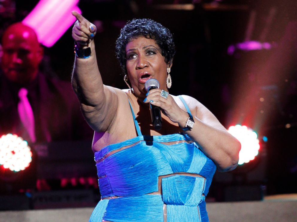 PHOTO: Aretha Franklin performs during the BET Honors at the Warner Theatre in Washington, Jan. 14, 2012.