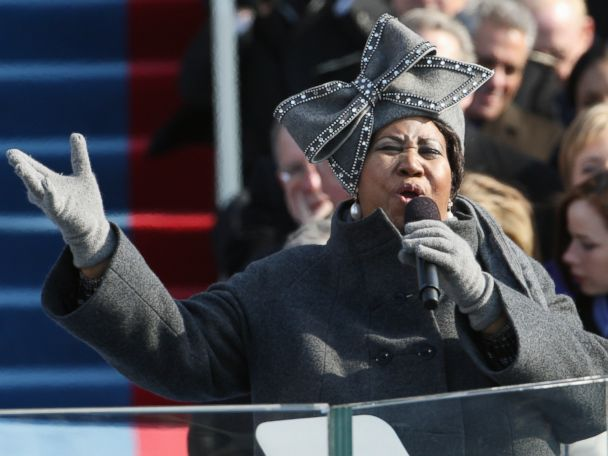 Watch Franklin's iconic performance at Obama's 2009 inauguration