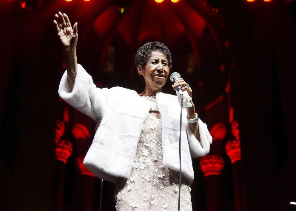 Aretha Franklin is in hospice care