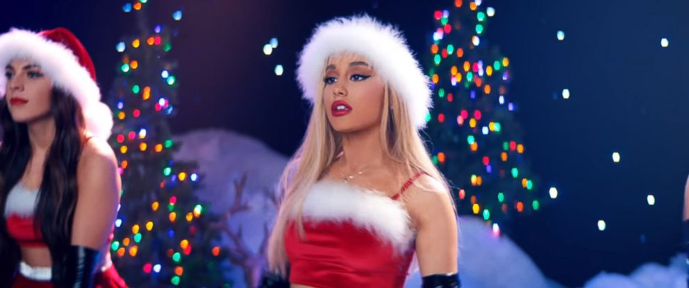 "PHOTO: Ariana Grande appears in the video for her song, ""Thank U, Next."""