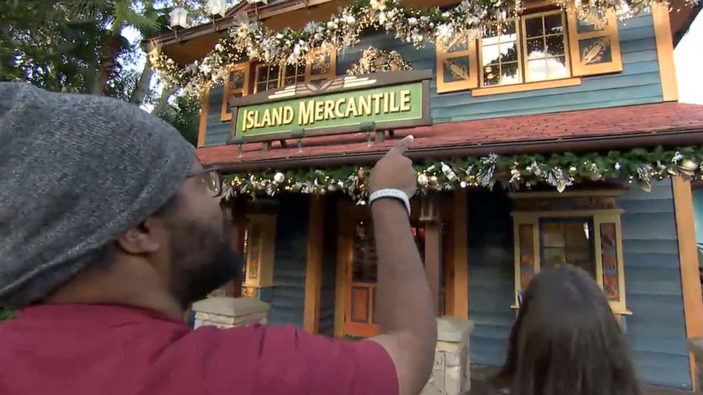 The heartwarming story behind Disney World's new holiday decorations