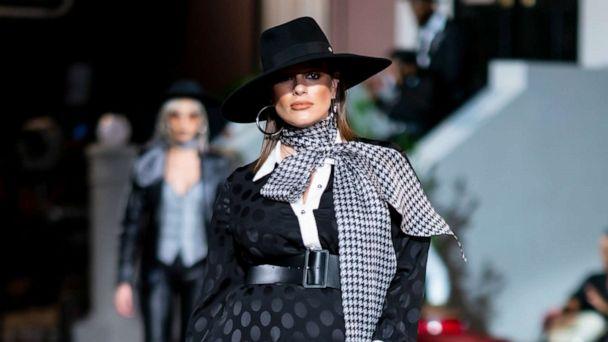 New York Fashion Week Spring/Summer 2020: Ashley Graham cradles baby bump on runway and more incredible moments