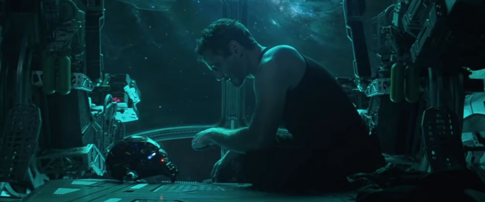 "PHOTO: Robert Downey Jr. is Tony Stark in the 2019 Marvel Studios film, ""Avengers: Endgame."""