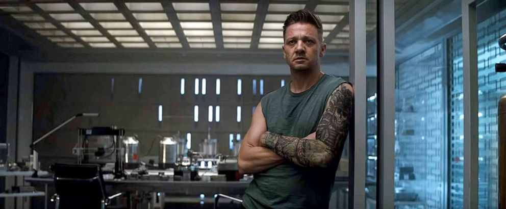 PHOTO: Jeremy Renner, as Hawkeye, in a scene from Avengers: Endgame.