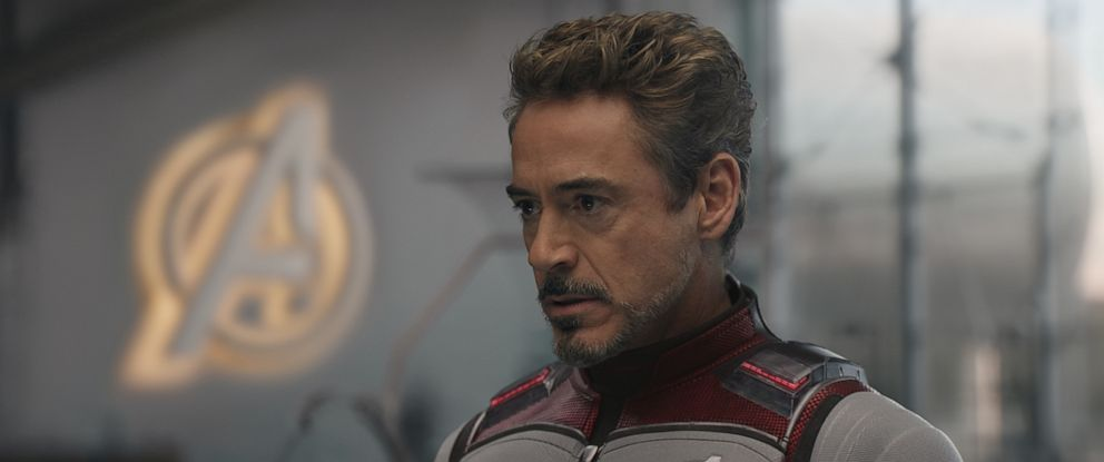 "PHOTO: Robert Downey Jr. as Tony Stark in ""Avengers:End Game."""