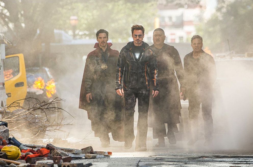 PHOTO: A scene from Avengers: Infinity War.