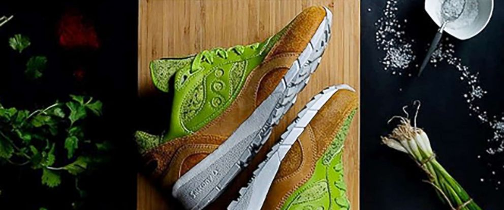 PHOTO: Avocado toast sneakers are pictured in this undated photo posted on Instagram.