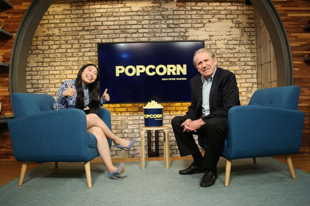 PHOTO: Awkwafina appears on Popcorn with Peter Travers at ABC News studios, July 9, 2019, in New York City.