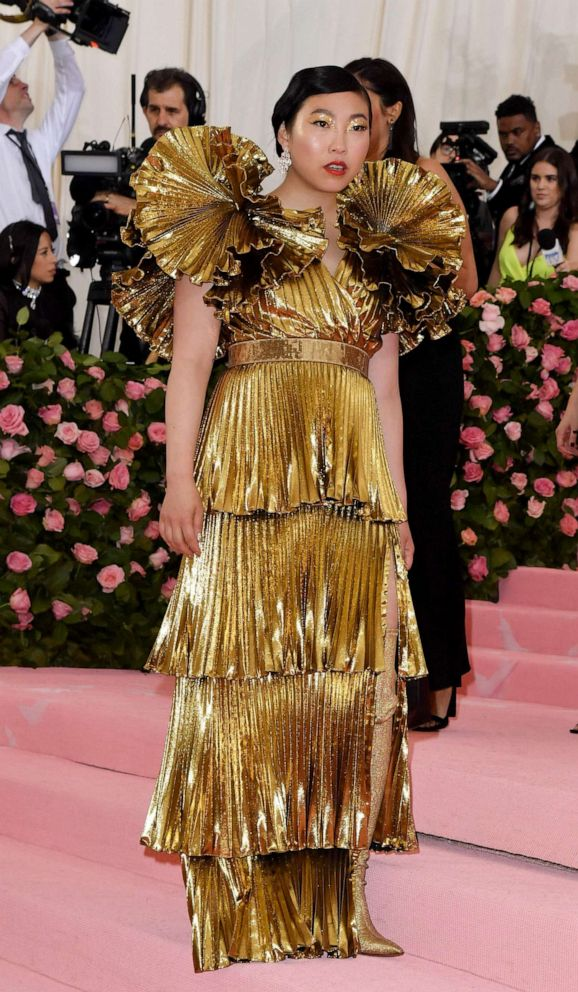 PHOTO: Awkwafina attends the 2019 Met Gala Celebrating Camp: Notes on Fashion at the Metropolitan Museum of Art, May 6, 2019 in New York City.