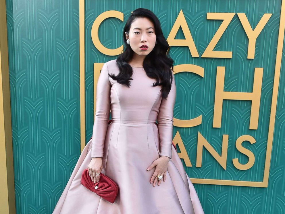 PHOTO: Awkwafina arrives to the Los Angeles premiere of Warner Bros. Pictures Crazy Rich Asians held at TCL Chinese Theatre IMAX, Aug. 7, 2018, in Hollywood, Calif.