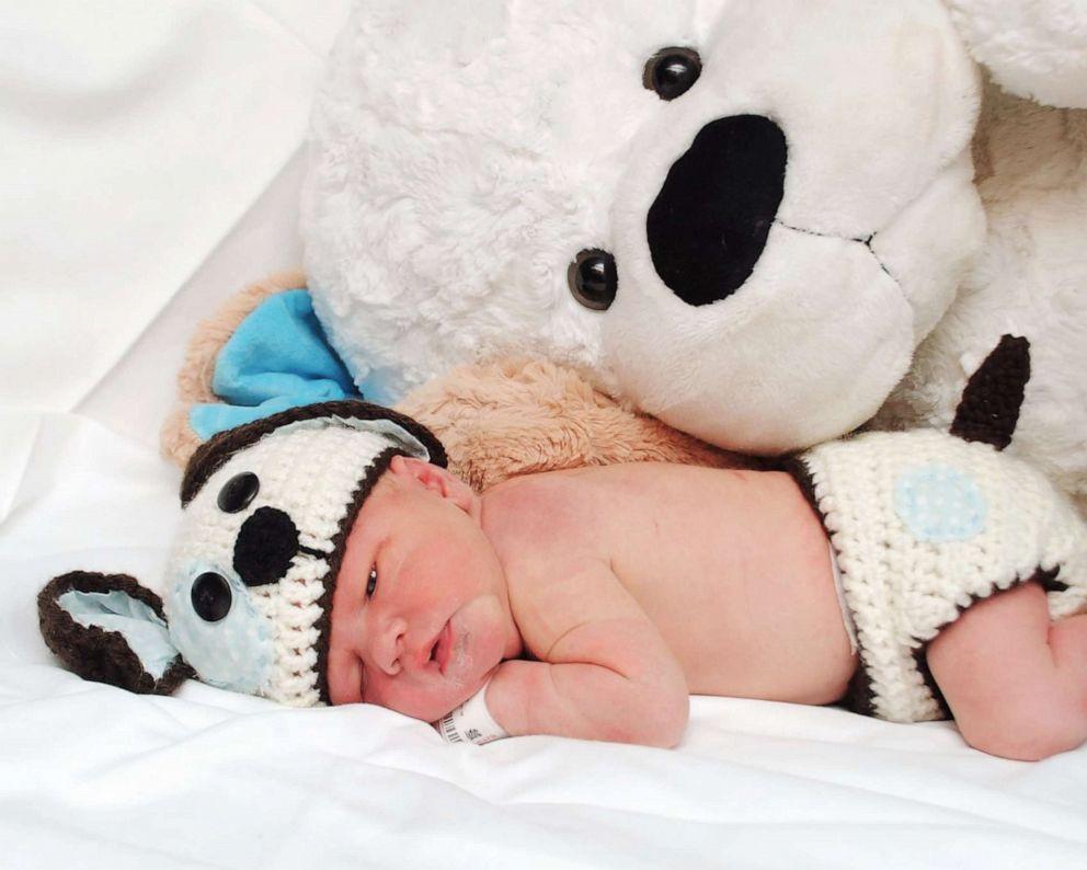 PHOTO: Elizabeth Koughs son, Benjamin, was born in March at North Kansas City Hospital.
