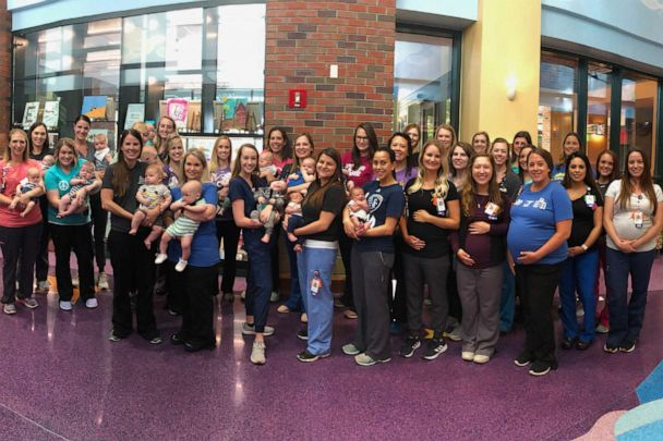 Oh, baby! 36 nurses in Kansas City hospital NICU due to give