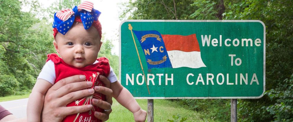 PHOTO: Harper Yeats, 5 months, has been accompanied by her parents, Cindy Lim and Tristan Yeats, on what has been a 4-month road trip across the U.S.