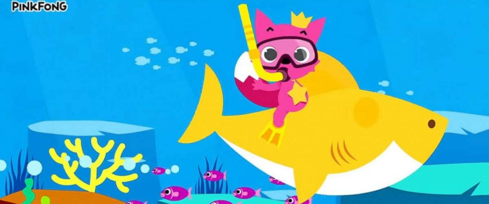 "PHOTO: The ""Baby Shark Dance"" video posted to YouTube by Pinkfong in 2016 has been viewed over 2 billion times."
