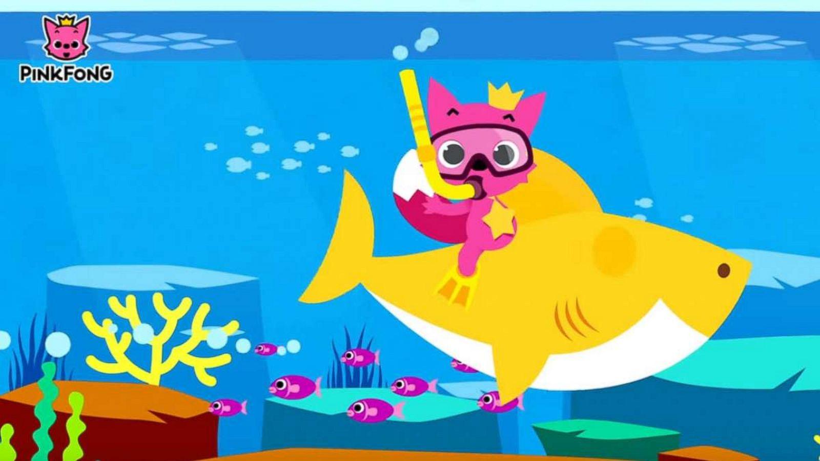 Baby Shark Wallpaper Hd