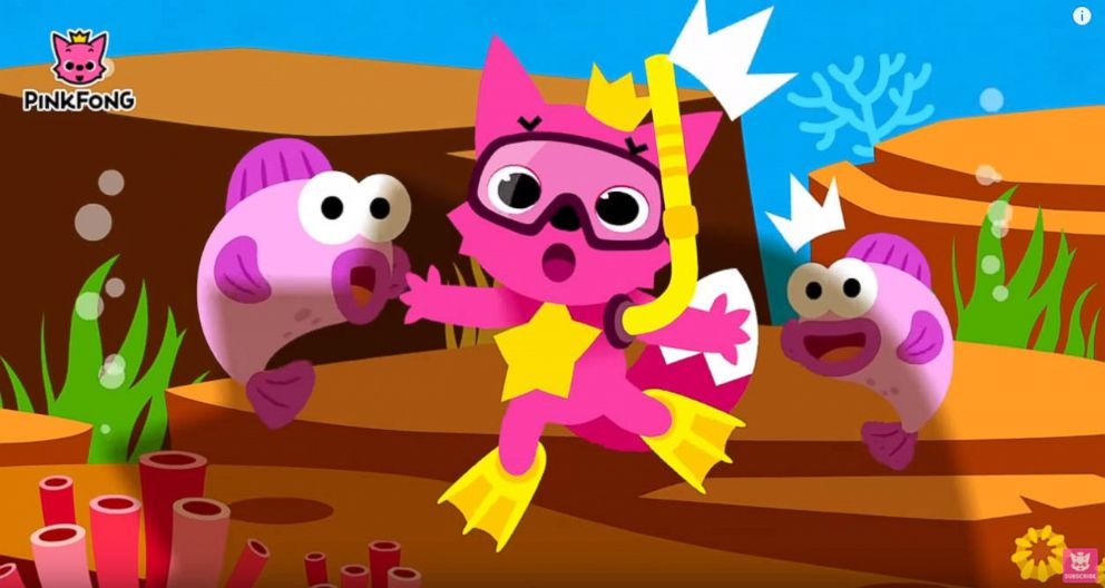 PHOTO: The Baby Shark Dance video posted to YouTube by Pinkfong in 2016 has been viewed over 2 billion times.
