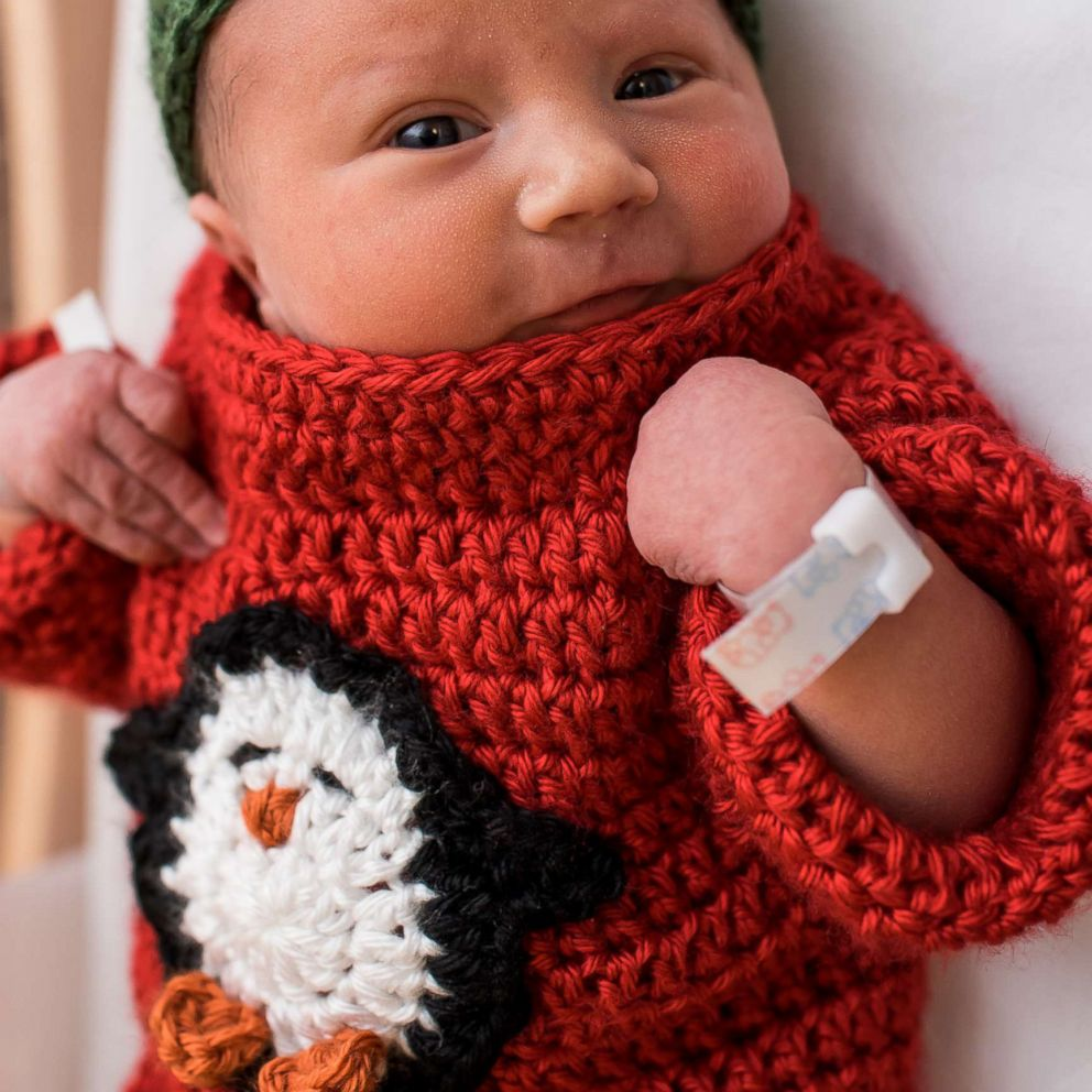 These Newborn Babies In Ugly Christmas Sweaters Truly Make The