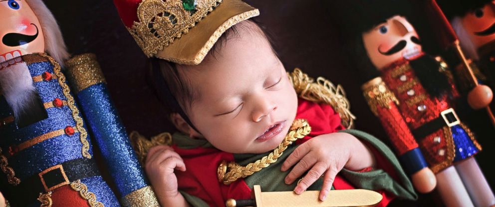 PHOTO: Babies pose as characters from The Nutcracker in new photo shoot.