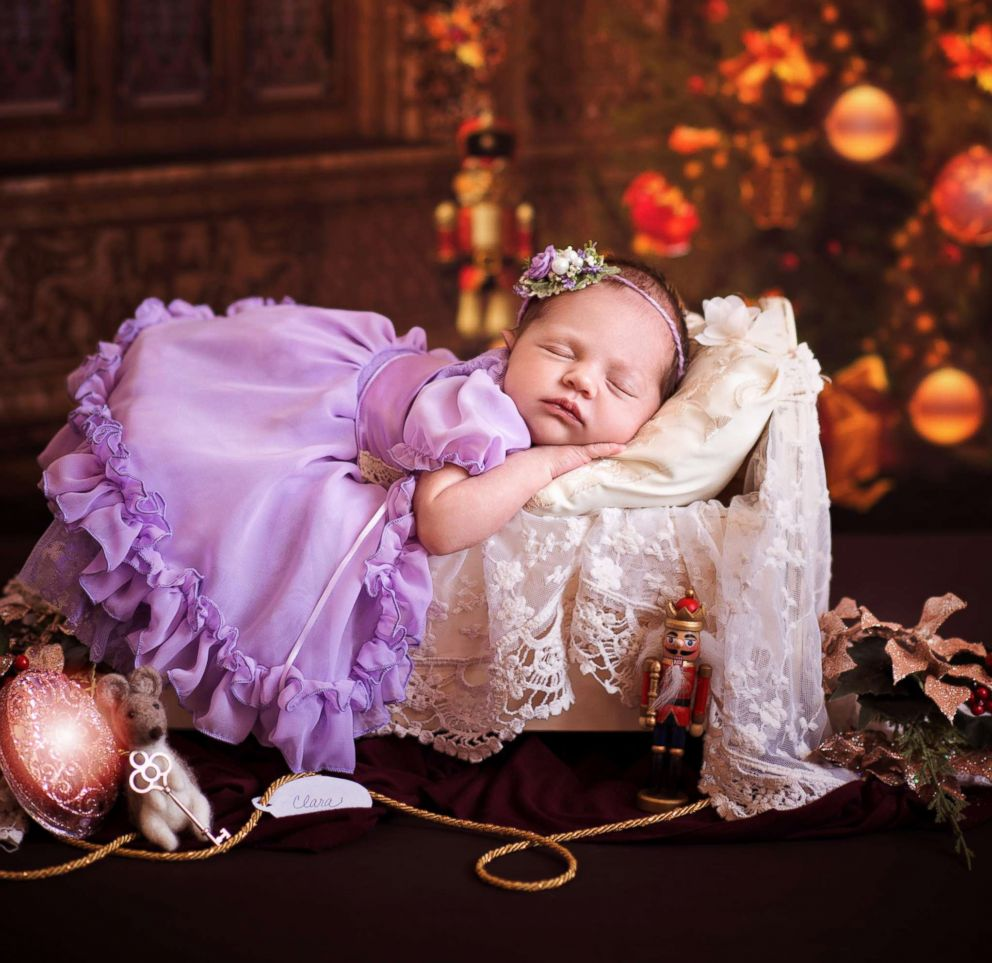 PHOTO: Babies pose as characters from The Nutcracker in a photo shoot.