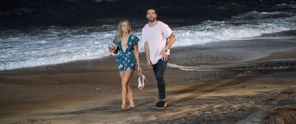 "PHOTO: Krystal and Chris appear on the show ""Bachelor in Paradise."""